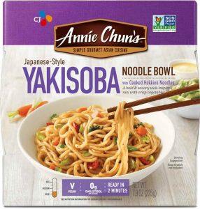 annie chun vegan noodle bowl