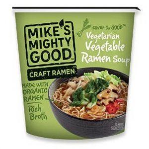 mikes mighty good vegan ramen
